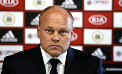 Latvijas un Kazahstānas izlašu treneri prognozē gaidāmo dueli Rīgā