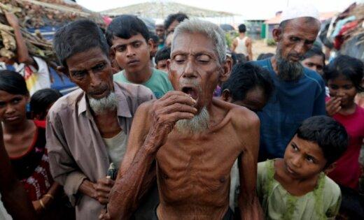 ANO Mjanmā atklāj saskaņotus un sistemātiskus uzbrukumus rohindžiem