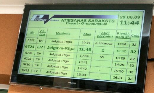 LDz обжалует штраф Центра госязыка за надписи на вокзале в Елгаве
