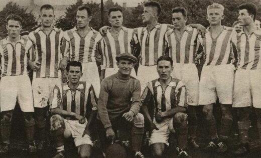 Latvijas sporta vēsture: Tauriņš – visātrākais futbola uzbrucējs Baltijā