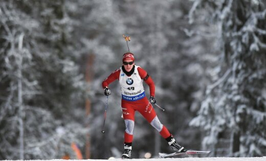 Кайса Мякяряйнен выиграла гонку наэтапеКМ побиатлону вРупольдинге