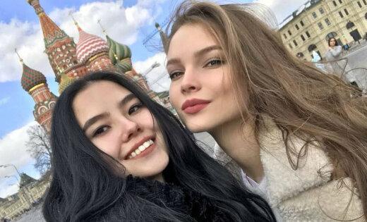 Foto: Krievijas skaistākās meitenes greznā dzīve
