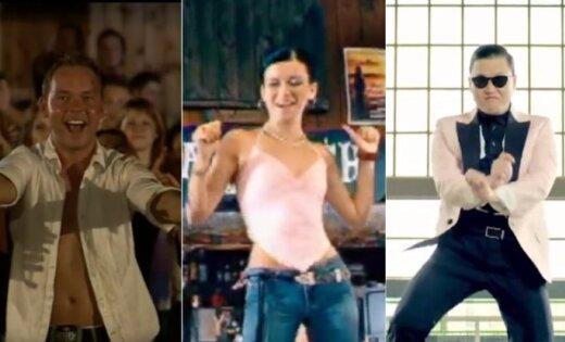 Desmit jautras un muļķīgas dejas, kas kļuva par neprātu