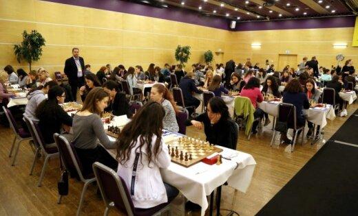 Lielmeistare Bērziņa Eiropas čempionātā šahā sievietēm piekāpjas polietei Ščepkovskai