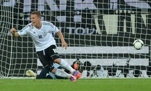 Vācija ar uzvaru nokārto iekļūšanu ceturtdaļfinālā