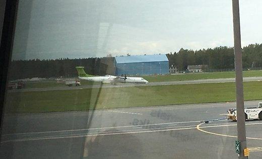 ВЛатвии прокомментировали жесткую посадку самолета AirBaltic на«брюхо»— Серьезный инцидент