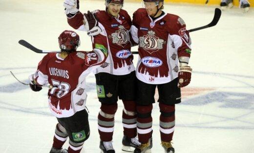 Rīgas 'Dinamo' rindās četrās KHL sezonās spēlējis 71 hokejists