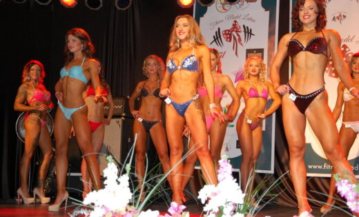 Fitness Model Latvia-2015
