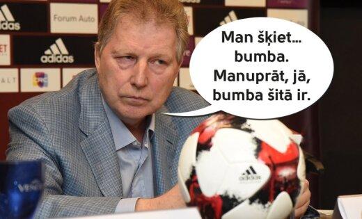 Cehs.lv: Vai Starkovs sāk saprast futbola konceptu?