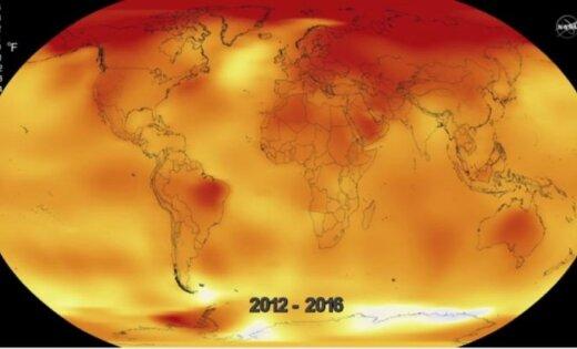 Ученые: 2016 год стал самым жарким вистории метеонаблюдений