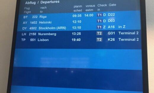 """""""Это неуважение"""". Пассажиры airBaltic не могли вылететь из Мюнхена в Ригу (дополнено в 17.47)"""