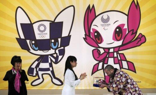 2020. gada Tokijas olimpisko spēļu rīkotāji laiž pārdošanā pirmos talismanu suvenīrus