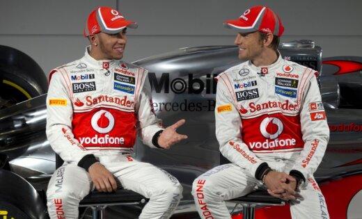 'McLaren' dominē pirmajā treniņā Hokenheimā