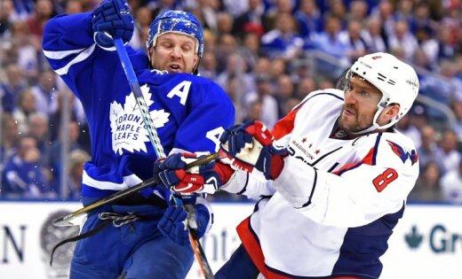 «Вашингтону» стоит облегчить игру всерии против «Торонто»— Овечкин
