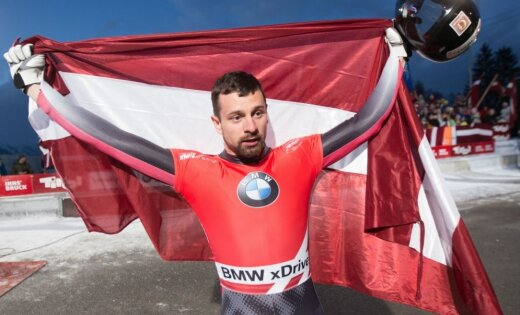 На премии латвийским спортсменам за заслуги выделили почти миллион евро
