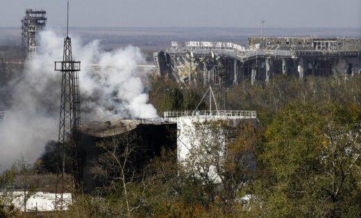 ВДонецком аэропорту наблюдатели ОБСЕ насчитали более 170 взрывов