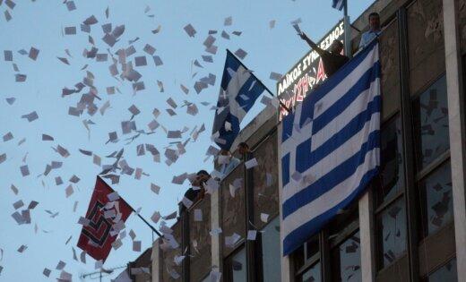 Grieķijas parlamenta vēlēšanas notiks 17. jūnijā