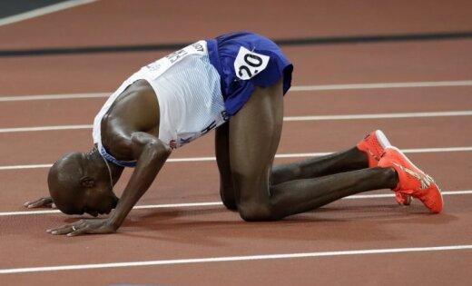 Farahs paliek otrais 5000 m distancē savā atvadu čempionātā