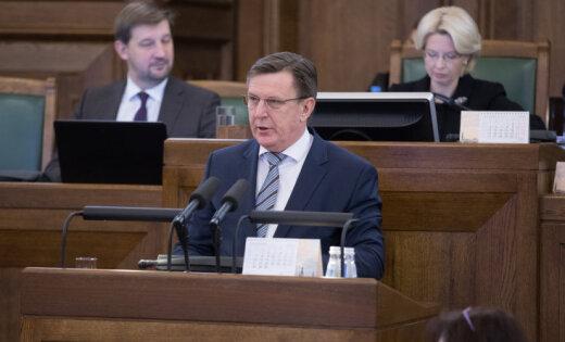 Кучинскис: правительство хочет добиться прироста ВВП на 5% в год