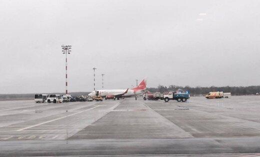 Самолет с русской хоккейной командой выкатился запределы полосы вРиге