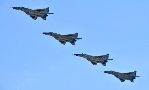 Новый русский истребитель МиГ-29СМТ попал навидео вСирии