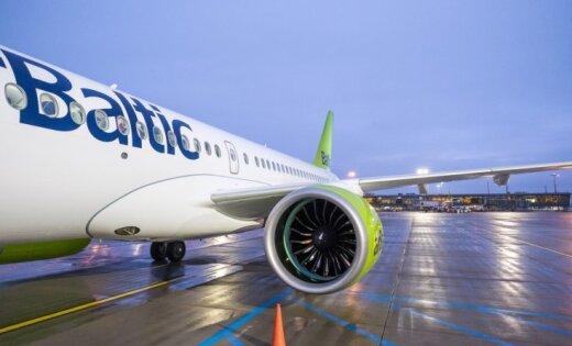 За четыре месяца airBaltic перевезла свыше миллиона пассажиров