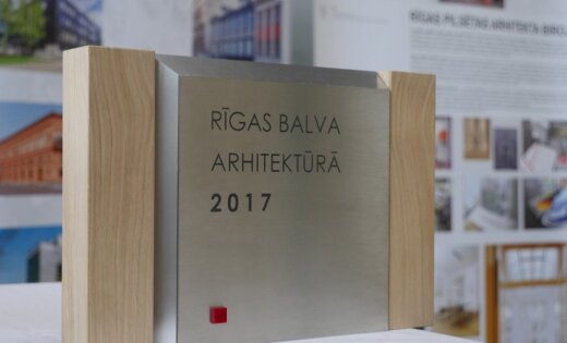 2017. gada balva Rīgas arhitektūrā piešķirta 'Pullman Riga Old Town'