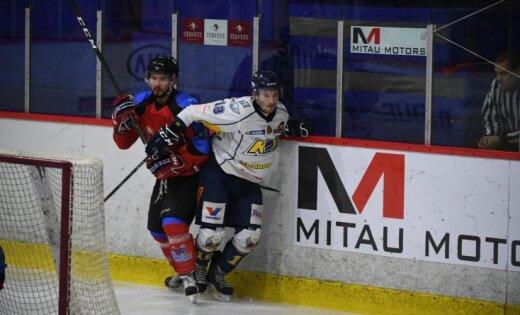 'Zemgale'/LLU un 'Mogo' hokejisti panāk izšķirošo maču savās pusfināla sērijās