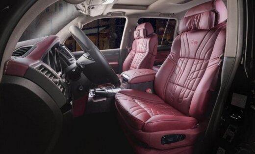 Bulgāru 'Vilner' aprīkojis 'Toyota' apvidnieku ar BMW sēdekļiem