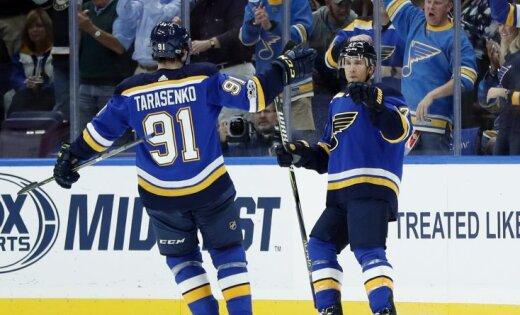 Голевая передача Тарасенко помогла «Сент-Луису» побороть «Колорадо» вматче НХЛ