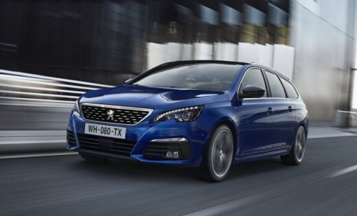 'Peugeot' modernizējis '308' modeli