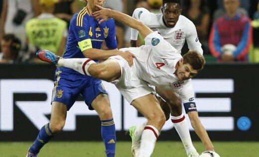 Bijušais futbola tiesnesis Kolina: Ukrainas izlases gūtie vārti bija jāieskaita