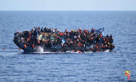 Около берегов Ливии утонули мигранты