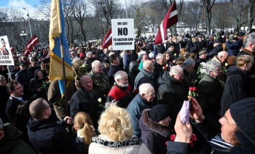 ВИДЕО: 2000 человек участвовали в шествии легионеров