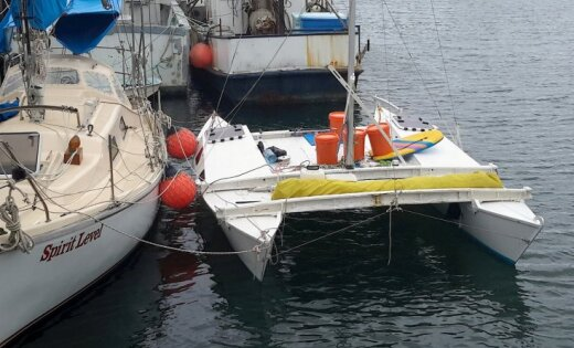 Мужчина сдочерью доплыли насломавшемся катамаране из новоиспеченной Зеландии доАвстралии