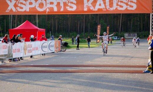 Toms Skujiņš uzvar riteņbraukšanas seriāla 'Xsports kauss 2012' otrajā posmā