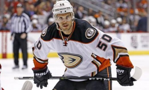 Anaheim Ducks center Antoine Vermette
