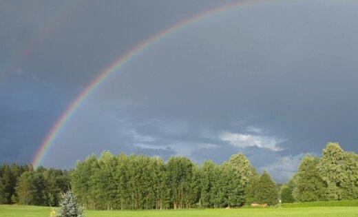 Trešdien vietām gaidāms īslaicīgs lietus un pērkona negaiss