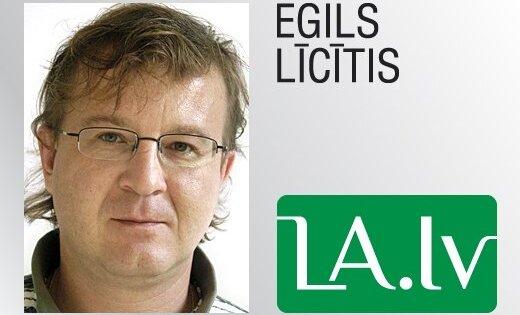 Egils Līcītis, 'Latvijas Avīze': Priekšā kaisītas pērles