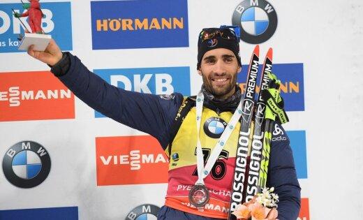 Martin Fourcade of France
