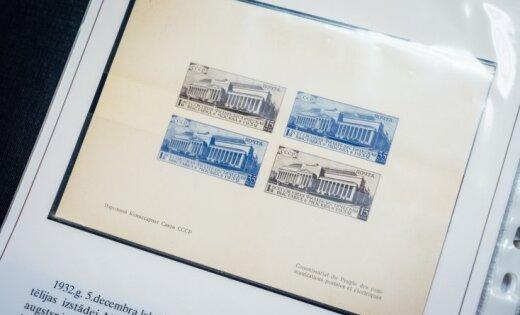 Latvijas dārgākā pastmarka