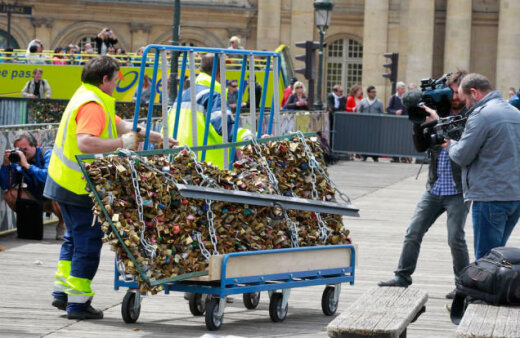 Ja tava slēdzene ir Parīzē...