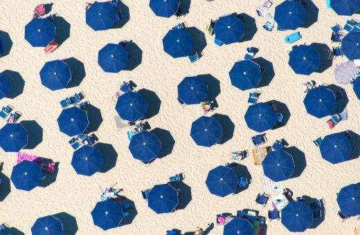Горячие, желанные, твои. Как пляжи по всему миру выглядят с высоты птичьего полета