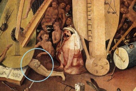 Atšifrēti uzraksti uz dibena slavenajā Bosha gleznā