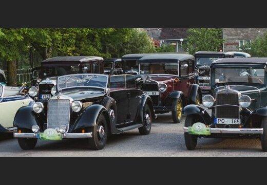 В Риге пройдет парад классических автомобилей