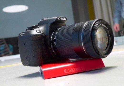 Jauna sākumlīmeņa spoguļkamera 'Canon EOS 1200D'