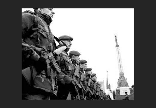 Латвийские солдаты отправятся в