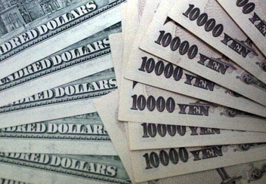 Курс доллара к иене достиг максимума за 3,5 года