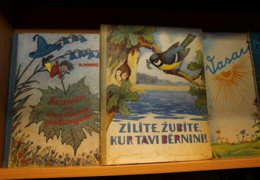 В Лиепае можно увидеть детские книги времен СССР и первой Атмоды