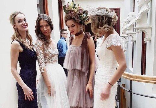 ФОТО: латвийские светские львицы примерили на себя образ невесты